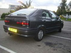 Renault 19. Had to re pin this. This car is identical to the first car I ever had... Same colour too! <3