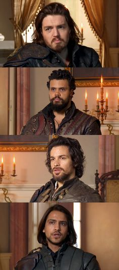 The Musketeers - Series III, BtS Interview