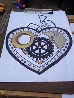 take two steampunk heart
