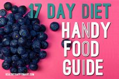 The 17 Day Diet Food List - learn what is allowed on this healthy diet. Reach your goals with 17 Day Diet Complete app.