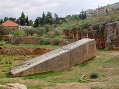 The great stone of Baalbek