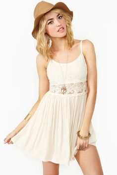 Nasty Gal - New & Vintage Clothing..sweet on you dress