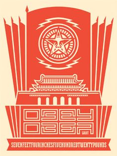 OBEY - soviet or chinese Art ? or both ?