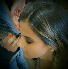 Makeup Fernanda Pandolfi #idaevolta #andreagarciamakeup #camarimportatilandreagarcia