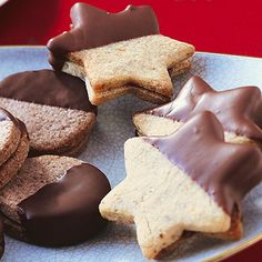 Gefüllte Sterne mit Pecan-Nüssen und Pflaumenmus. Ein Traum von Weihnachtskeks!