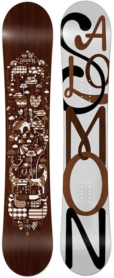 This is a work of art. I don't know if I would actually use it to snowboard, it's so beautiful.