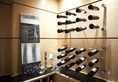 Tons of awesome wine rack ideas