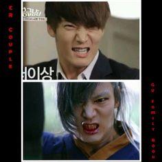 Choi Jin Hyuk - 2 dramas, same snarle...;)