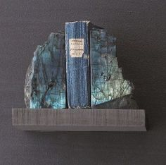 Roost Labradorite Bookends