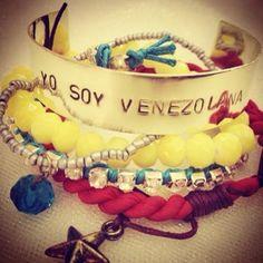 Bracelet set by Venezuelan designer Labamba