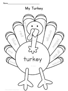 Thanksgiving Printables for SpanishTurkey themed Spanish Printables help reinforce your color and counting instruction.