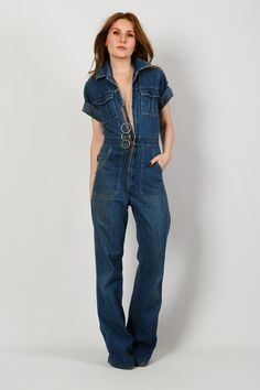 Details about BABY PHAT Plus Size Denim Jumpsuit * LACE UP CORSET ...