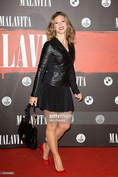 Photo d'actualité : Lorie attends the 'Malavita' premiere on October...