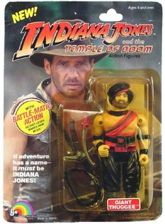 Thuggee action figure from Temple of Doom