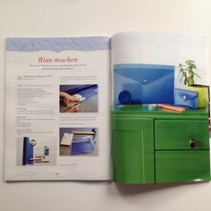 It's always exciting when my work gets featured in magazines. Here's a tutorial in Lena's Patchwork for a PVC clutch and wallet originally created for @makerist #diy #sewing #sewingpattern #patchwork #lenaspatchwork #freesewingpattern #diysewingacademy
