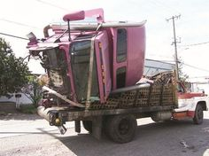 Dangers of Unsecured Loads (also, see video of 2x4 fly through a driver's windshield).