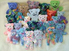 Free Easy Crochet Teddy Bear Patterns : quick knitted bear directions (crochet too) Knitting ...