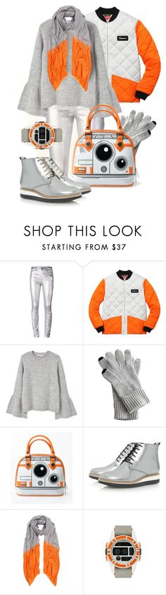 """Bb-8 Winter Outfit"" by auntmidnight ❤ liked on Polyvore featuring Étoile Isabel Marant, MANGO, Mark & Graham, Dune, Allegra London and Nixon"