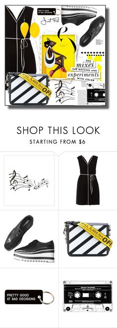 """""""Color block"""" by lou-lou-di ❤ liked on Polyvore featuring Paule Ka, Off-White, Various Projects, Kate Spade and Kim Rogers"""