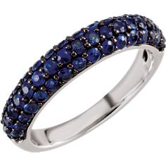 Sapphire Pave' Band, click to be directed for purchase!