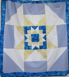 Four Corners Star Quilt Pattern