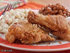 Buttermilk Fried Chicken   mrfood.com