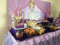 Sofia the First Birthday Party Ideas | Photo 2 of 6 | Catch My Party