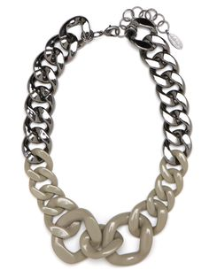 RAWR!! Love this chain link necklace!