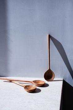 Image of Round Alder Stirring Spoon