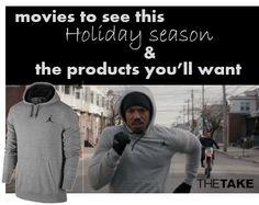 Adonis Johnson in his Jordan workout hoodie at TheTake.com   Creed (Nov. 25th)