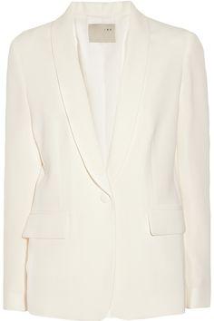 A white blazer...wardrobe staple.