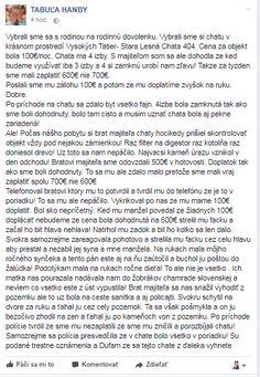 Dovolenka v Tatrách sa