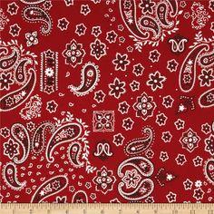 Bunkhouse bandanna fabric