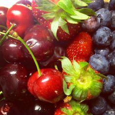 #Kesä ja herkulliset marjat. / #Summer and delicious #berries.