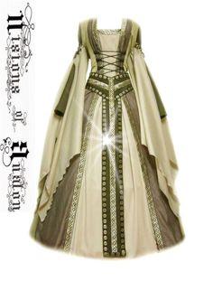 medieval dress costume m...