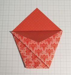 Tuto de la Pochette cadeau en origami