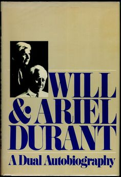 loved, Loved, LOVED this book.  Fell in love with Will Durant and love everything he has written...and that is a LOT!