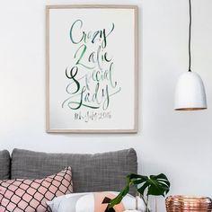 Personalised Calligraphy by kirsten Burke