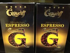 Graycliff Espresso Coffee Cuban Coffee, Espresso Coffee, Expresso Coffee