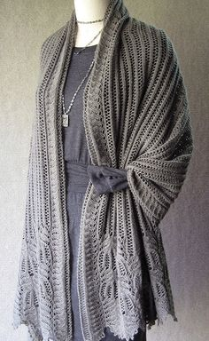 NobleKnits.com - Sunday Knits Pachelbel Wrap Knitting Pattern, $7.95 (http://www.nobleknits.com/sunday-knits-pachelbel-wrap-knitting-pattern/?utm_source=NobleKnits Yarn Shop