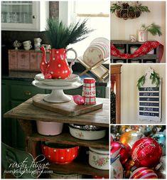 Jennifer Rizzo's Holiday Housewalk, Christmas Home Tour, Christmas Decorating, Christmas Decor, Vintage Christmas, Victorian Christmas