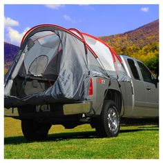 Let's go camping!  Up off the ground!!! Ballast Truck Tent