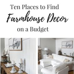 Ten Places to Find Farmhouse Decor on a Budget – Centsible Chateau Home Decor Kitchen, Home Decor Bedroom, Diy Home Decor, Bedroom Ideas, Diy Kitchen, Home Renovation, Home Remodeling, Cabinets To Ceiling, Kitchen Cabinets