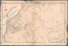 Part of Westfield Staten Island New York, New York City Map, New York Public Library, Public Domain, Maps, Digital, Blue Prints, Map