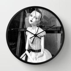 The hanged mistress Wall Clock  PLEASE : ✔ LIKE ✔ REPIN ✔ FOLLOW ME ;) ARTIST FAN PAGE : https://www.facebook.com/StwayneKeubrick    #HomeDecor #StwayneKeubrick #Photos #wallclock #wallclocks #Accessories #Society6