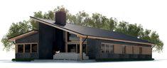 lateral casa moderna, diseño de casas modernas