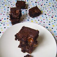 This ain't your mama's dinner!: Mouthgasmic brownies
