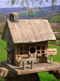 Home Sweet Home birdhouse