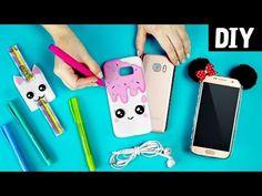 10 Ideias incríveis de Capa de Caderno DIY com Plástico Auto Adesivo - YouTube