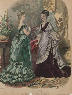 La Mode Illustrée 1874